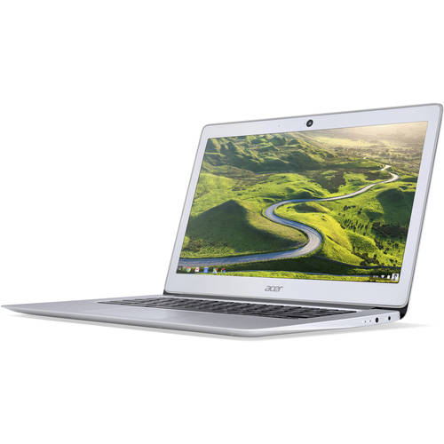"Acer Sparkly Silver 14"" CB3-431-C5FM Chromebook PC with Intel Celeron"