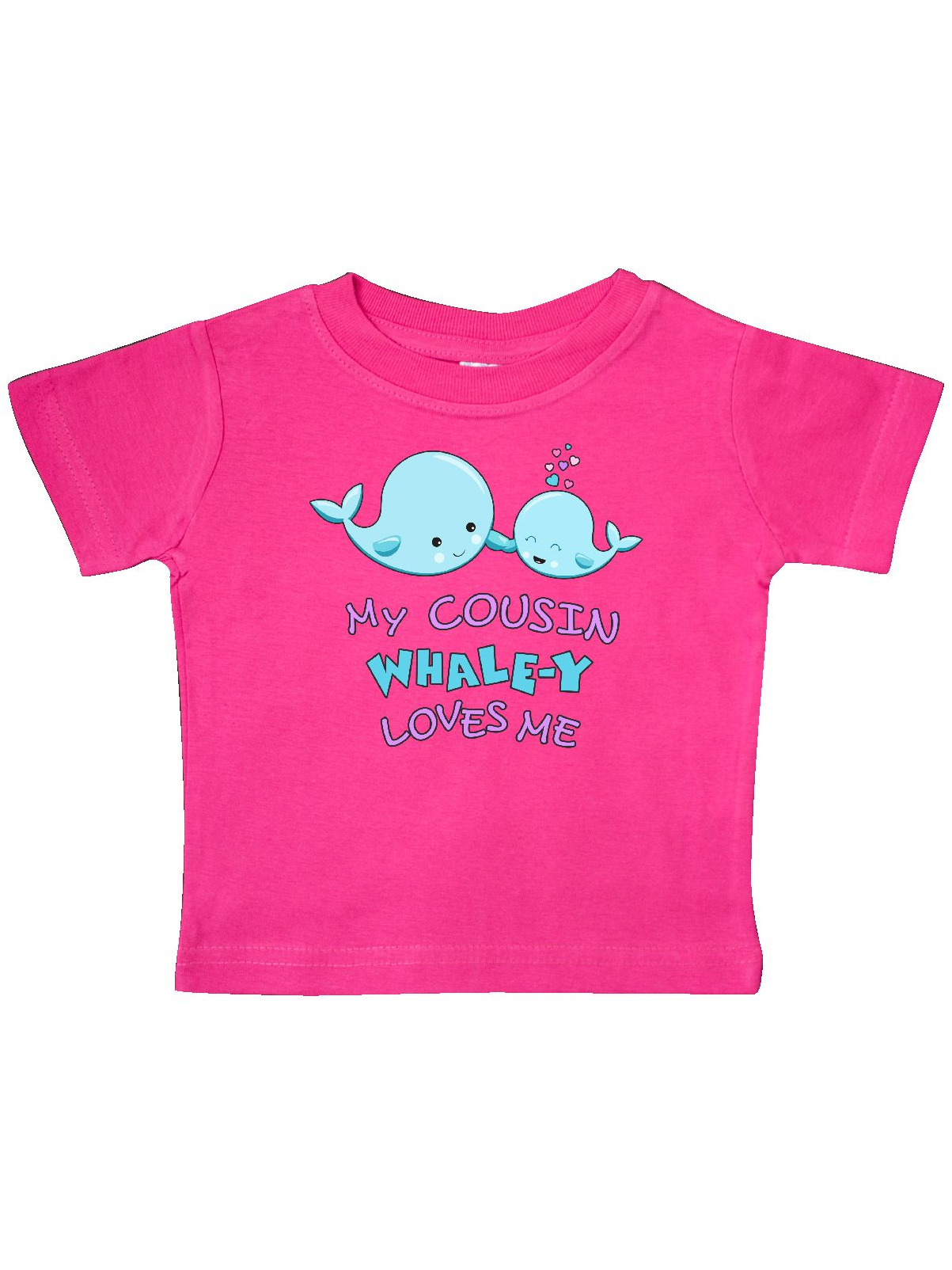 My Cousin Whale-y Loves Me Baby T-Shirt