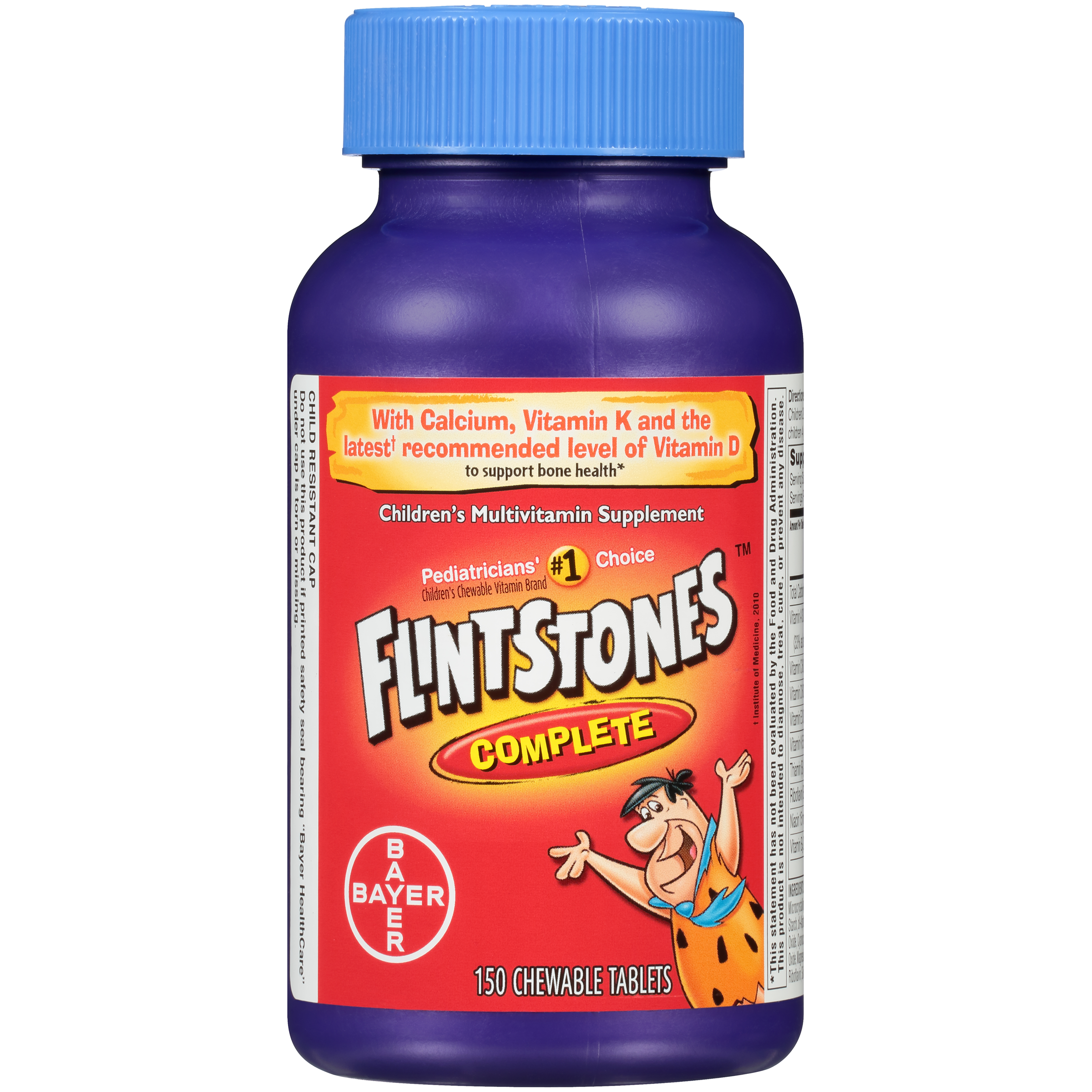 Flintstones Children's Complete Chewable Multivitamin, 150 Count