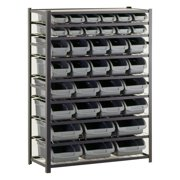 Edsal 36 Bin Industrial Storage Rack
