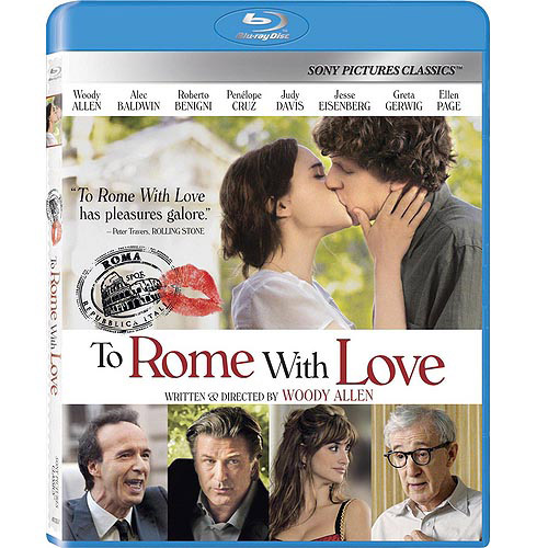 To Rome With Love (Blu-ray) (Widescreen)