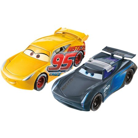 Disney Pixar Cars 3 Flip To The Finish Rust-Eze Cruz Ramirez & Jackson Storm Vehicles - Disney Pixar Cars Hank Halloween Murphy
