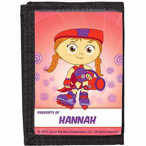 Personalized Super Why! Wonder Red Wallet