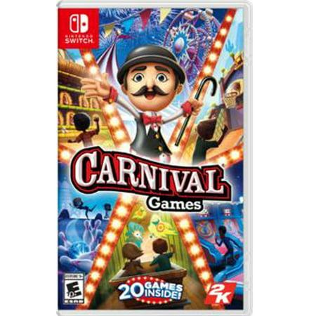 Carnival Games, 2K, Nintendo Switch, 710425551574