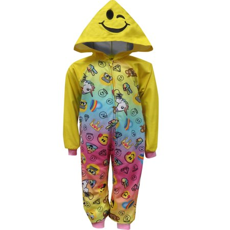 Emoji Girls' Blanket Sleeper - Emoji For Girls