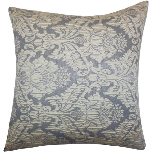 The Pillow Collection Goya Damask Throw Pillow