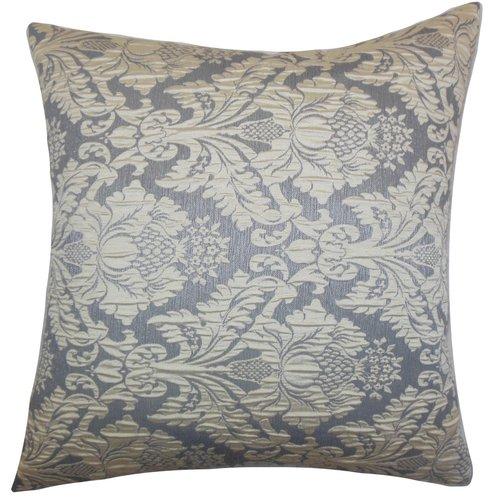 The Pillow Collection Goya Damask Throw Pillow
