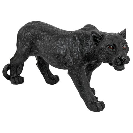 Design Toscano Shadowed Predator Black Panther Statue: Small