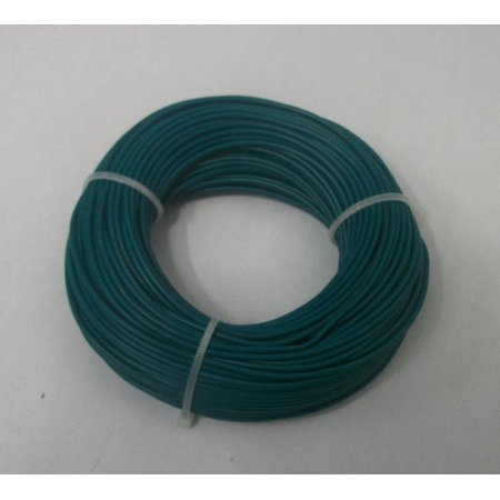 - 22 AWG tinned copper stranded hook up wire, 100 feet per Green UL1007