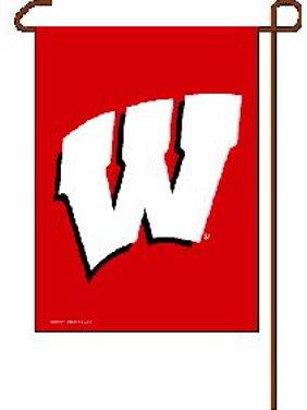 "Wisconsin Badgers 11""x15"" Garden Flag by Wincraft, Inc."