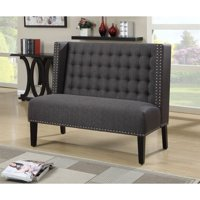 Dining Banquette, Tuxedo Anthracite