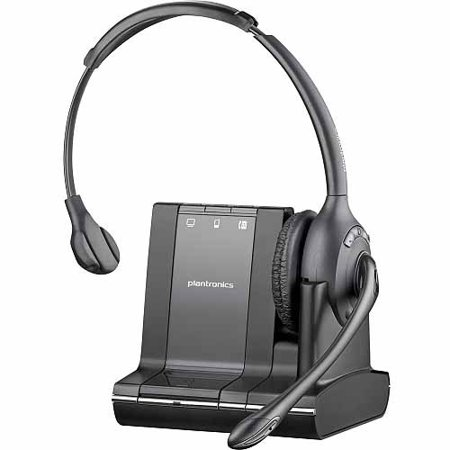 Plantronics W710-M Over-the-Head Headphones by