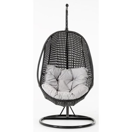 Bay Isle Home Kyra Outdoor Swing Chair with Stand