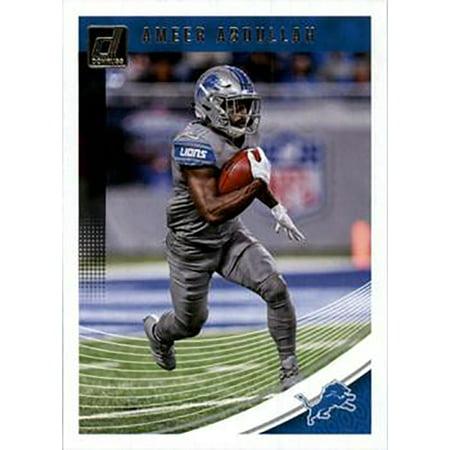 Ameer Abdullah 2018 Donruss Football 48 Card Lot Detroit Lions #98](Ameer Abdullah Halloween)