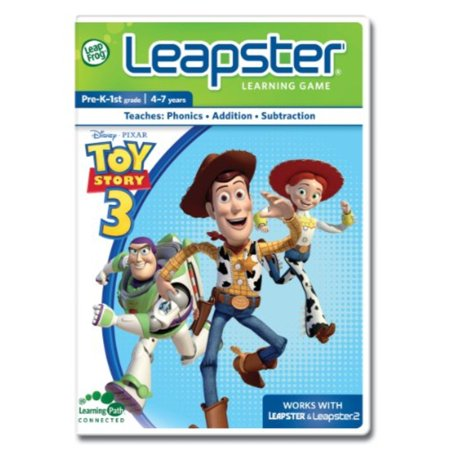 LeapFrog Leapster Learning Game: Toy Story 3 - Leapster Handheld Games