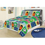 Sports Bedding - Boys sports bedding sets twin