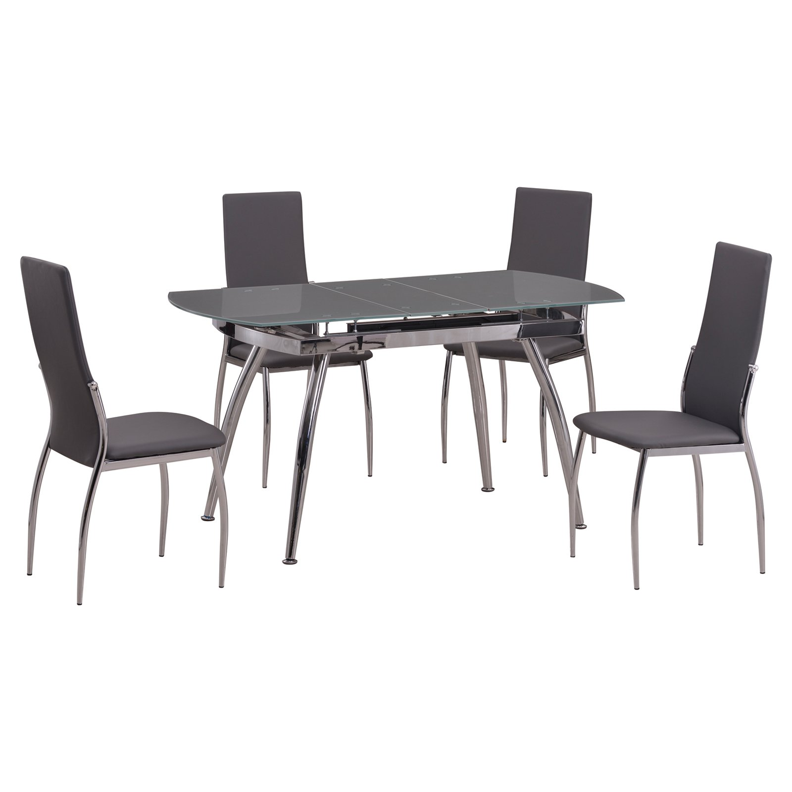 Chintaly Luna 5-Piece Dining Table Set