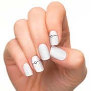 Coconut Nail Art by Incoco Nail Polish Strips, Have a Heart ...