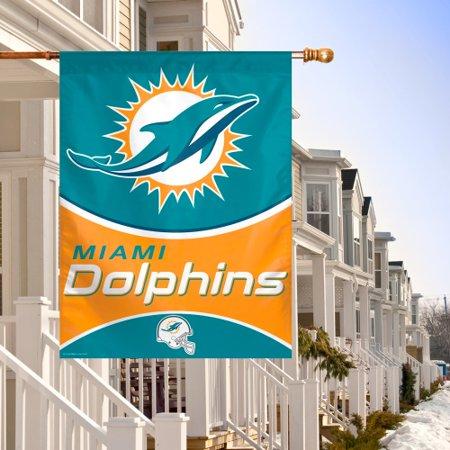 Miami Dolphins Car Flag - Miami Dolphins WinCraft 27