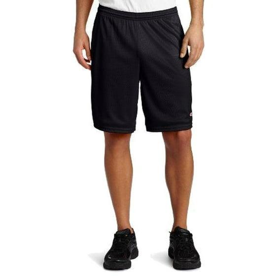 2e176c371a266 Champion - Men's Long Mesh Shorts with Pockets - Small - Athletic Gray -  Walmart.com