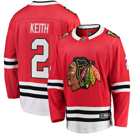 Duncan Keith Chicago Blackhawks Fanatics Branded Youth Breakaway Player Jersey -