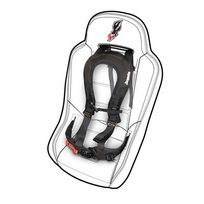 Dragonfire Racing Evo Safety Harness Driver Side for Can-Am Maverick 1000 X rs Turbo (Best Turbo For Evo X)