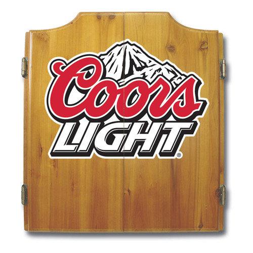Trademark Global Coors Light Dart Cabinet Set Walmart Com