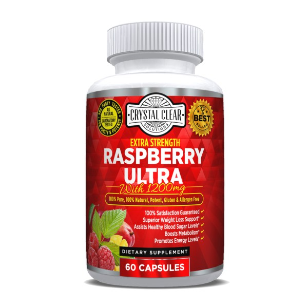 Raspberry Ketone Ultra 600mg - 60 Caps