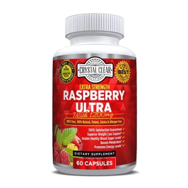 Raspberry Ketone Ultra 600mg 60 Caps Walmart Com Walmart Com
