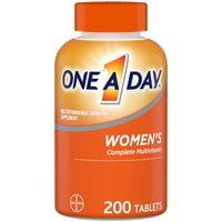 One A Day Women's Multivitamin Tablets, Multivitamins for Women, 200 Ct