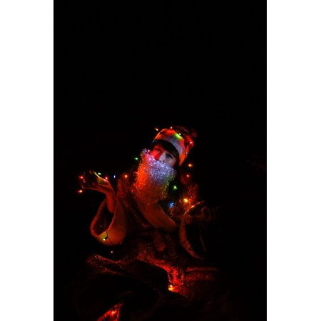 LAMINATED POSTER Christmas Lights Costume New Year's Eve Holiday Poster Print 24 x 36