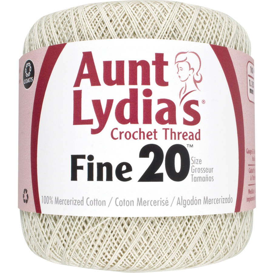 Aunt Lydia's Crochet Cotton Thread