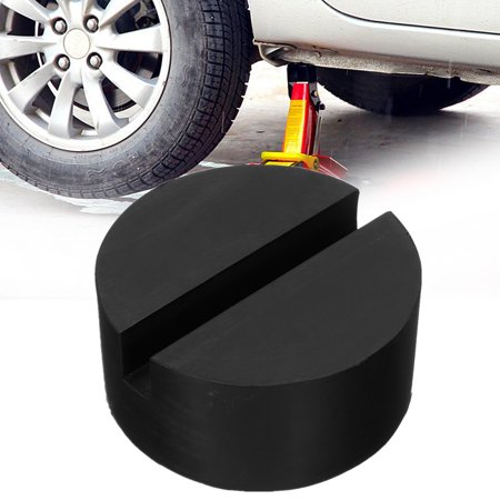Car Universal Slotted Frame Rail Floor Jack Pad Guard Adapter Lift Rubber Pad (Best Home Car Lift)