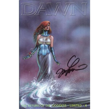 Dawn The Return Of The Goddess #4 Cardstock Cover #214 of Limited 3500 - Signed Four