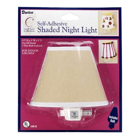 Night Light - Shaded - with Adhesive - 5.5 x 5 x 3 (Nite Shades Tail Light)
