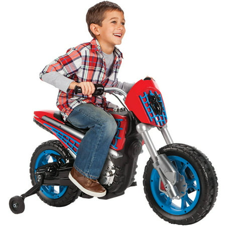 Marvel Spider-Man 6-Volt Electric Battery-Powered Ride On Toy by Huffy
