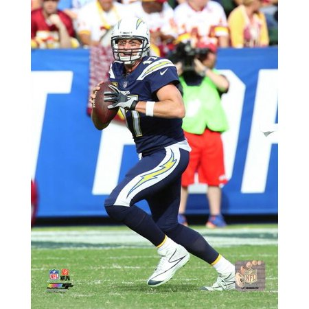 Philip Rivers 2017 Action Photo Print