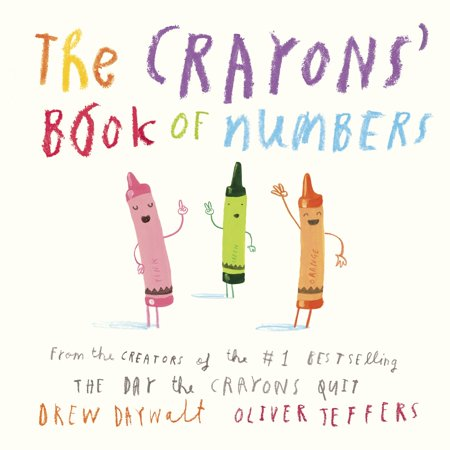 Crayons Book of Numbers (Board Book)