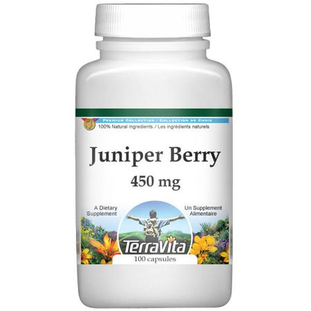 - Juniper Berry - 450 mg (100 capsules, ZIN: 510855)