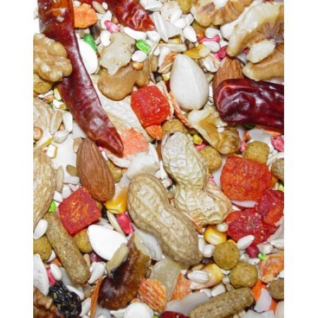 Saffluidower Gold Large Hookbill Bird Food 25Pound Hig25131 Higgins Premium Pet