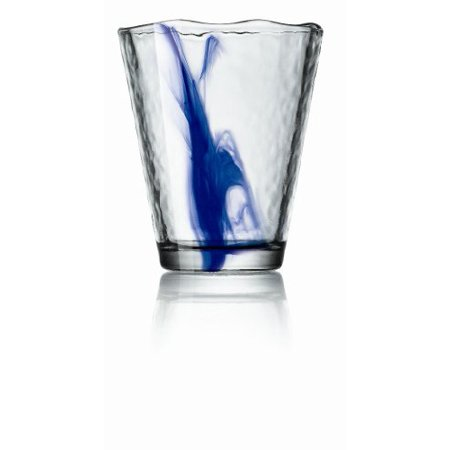 - Bormioli Rocco Murano 14.875 oz. Drink Glasses, Long, Blue, Set of 12