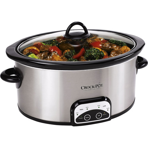 Crock-Pot 7-Quart Programmable Slow Cooker