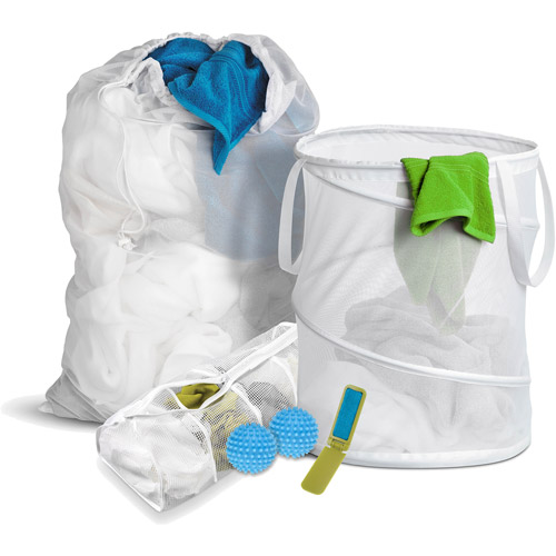 Honey Can Do Basic Laundry Kit for Dummies (6 Pieces)