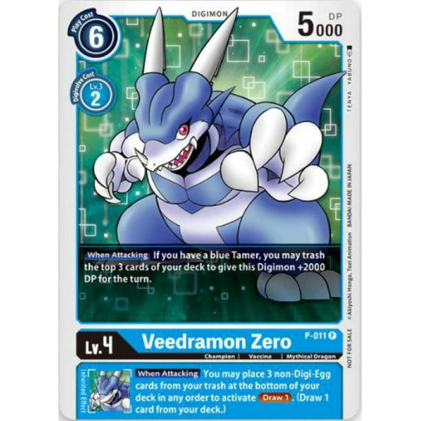 Digimon 2020 V.1 Veedramon Zero P-011 - Walmart.com - Walmart.com