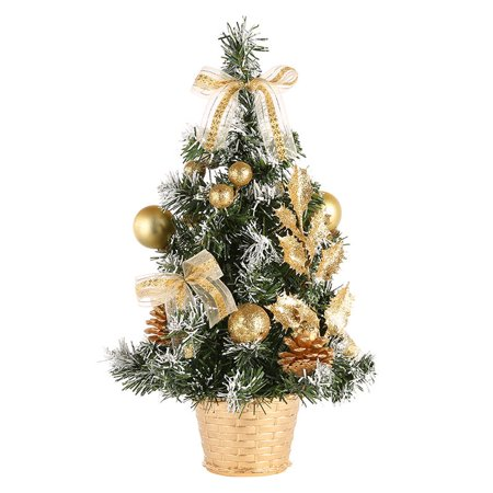 15/20/30/40cm Table Decorative Christmas Tree Ornament Festival Party Home Table Decor Xmas Gifts ()