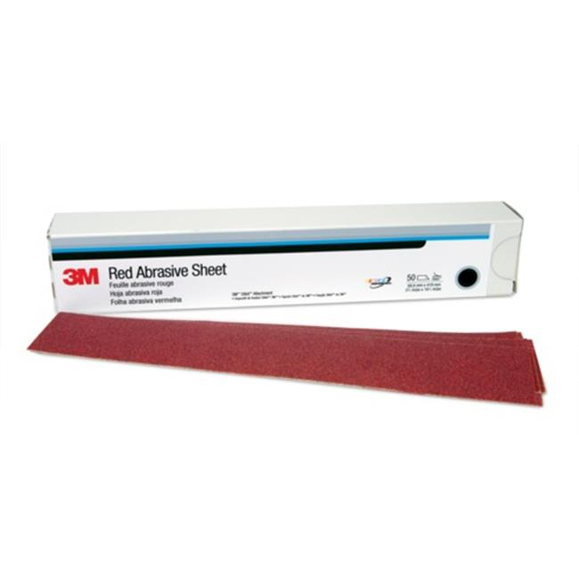 3M Company 3M-1180 Red Abrasive SHeet by 3M