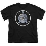 Stargate SG1 Earth Emblem Big Boys Shirt