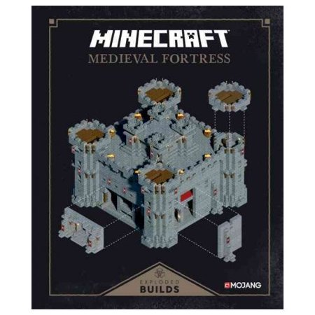 Minecraft  Exploded Builds  Medieval Fortress  An