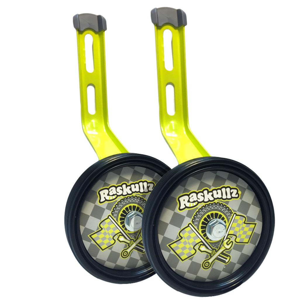 Raskullz Bike Riderz Adjustable Bicycle Training Wheels