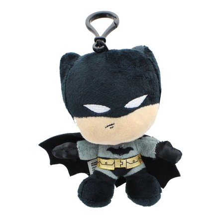 DC Comics Heroez Clipz 4 Inch Collectible Mini Plush - Batman ()